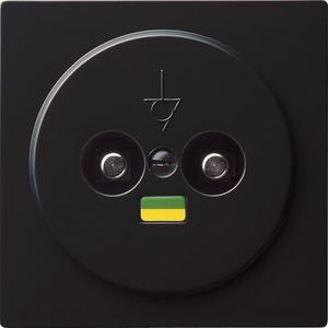 Potentialausgleich 2-fach für S-Color schwarz