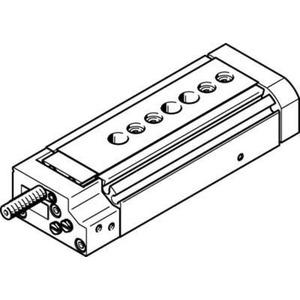 Mini-Schlitten Kugel-Käfig-Führung Baugr. 10 mm / Hub 30 mm Y3-Dämpf.