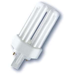 Kompaktleuchtstofflampe Ralux Trio RX-T 18W/827/GX24D
