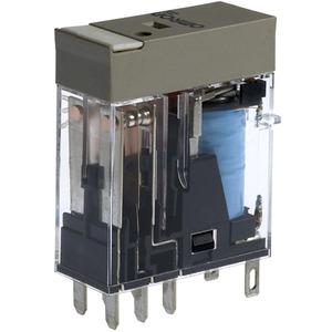 Steckrelais mit mechanischer und LED Stellungsanzeige