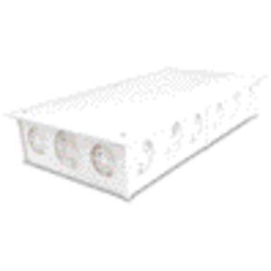 Abzweiggroßkasten zur Verlegung unter Putz weiß mit Randdeckel
