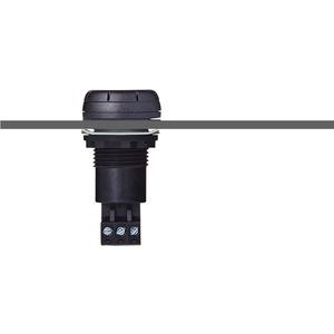 M22 Einbausummer Dauer-/Pulston schwarz 230/240 V AC