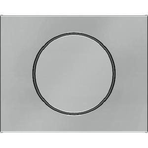Zentralstück mit Regulierknopf für Drehdimmer K.5 Edelstahl