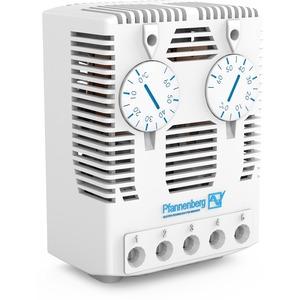 Zwillings Thermostat mit S / S mit Sprungkontakt für Schaltschrankhzg.