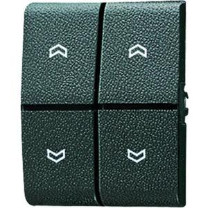 Wippe mit Symbole Pfeile für Serienschalter BA 2-fach Mittenstellung
