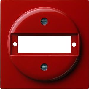 Abdeckung mit Tragring D-Sub für S-Color rot