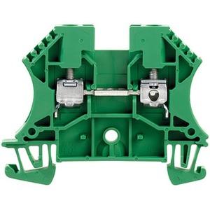 Durchgangs-Reihenklemme mit Schraubanschluss WDU 4 GN 4 mm²
