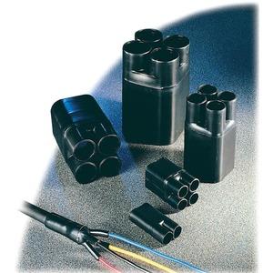 Warmschrumpf-Aufteilkappe für 4-adrige Kabel 4 x 35-4 x 150mm²