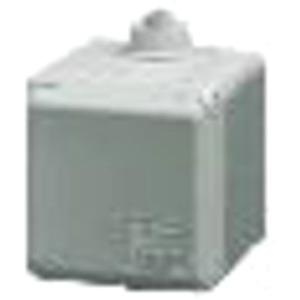 AP CEE-Wandsteckdose Cepex 16A 5p 400V 6h IP44 lichtgrau