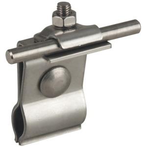 Dehn Dachleitungshalter NIRO für Metalldächer f. Rd. 6-10 mm
