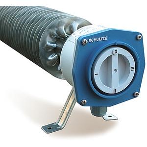 V4A Edelstahl Rippenrohrheizofen m 3-Stufen-Schalter 3000W 230V L=1440mm IP66/67