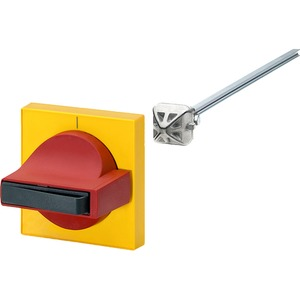Für Leistungssch. 3VL1 3VL2 3VL3 Knebel rot Blende gelb Bgr.1
