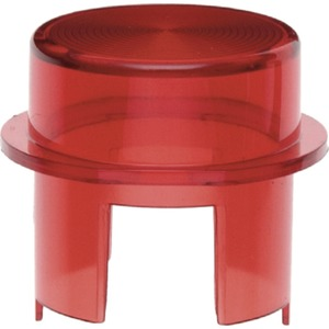 Haube für Drucktaster und Lichtsignal E10 Zubehör rot transparent