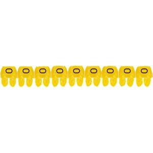 """CAB 3 Kabelkennzeichnung 0,5 - 1,5 mm² Buchstabe """"O"""""""
