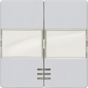 DELTA i-system aluminium-metallic Wippe mit Fenster Schild für