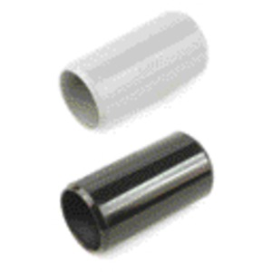 Steckmuffe schwarz zur Verbindung von starren oder biegsamen Rohren