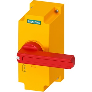 Zubehör für 3KF Baugr. 3 Direktantrieb rot / gelb abschließbar