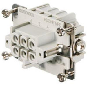 Einsatz HDC Buchse 500 V 24 A HE 6 FC