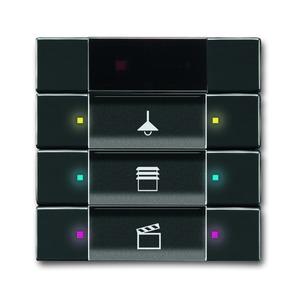 Unterputz Sensoren future linear Tastsensor 3/6-fach mit Infrarot